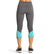VaporActive System Mid-Rise Capri Leggings | Iron Gate / Pool Blue