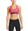 VaporActive Temper Racerback Medium Impact Sports Bra | Beetroot Purple Triangle Texture