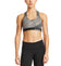 VaporActive Temper Racerback Medium Impact Sports Bra | Iron Gate / Paloma Ice