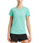 Womens VaporActive Stratus Short Sleeve Running T-Shirt | Pool Blue