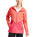 Women's VaporActive Barometer Running Jacket | Emberglow/ Beetroot Purple Ombre