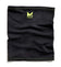 Cooling Compact Neck Gaiter | Jet Black / Hi Vis Green