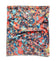HydroActive Fitness Half Multi-Cool Neck Gaiter and Headband | Graffitti Pattern Hi Vis Coral