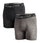 VAPORACTIVE BOXER BRIEFS - 2 PACK | Black / Charcoal