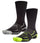 Vaporactive Performance Crew Socks 2-Pack | Hi Vis Green / Black
