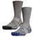 Vaporactive Performance Crew Socks 2-Pack | Royal Blue / Charcoal