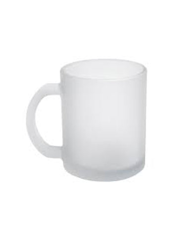 Glass Mug - Frosted - 11oz (12 pieces)