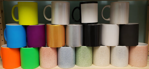 Assorted Ceramic Mug 11oz Sampler Pack - 36/case