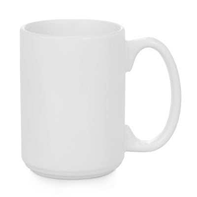 Ceramic Premium White Mug-15 oz