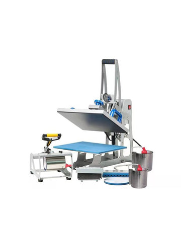 Auto open combo press 9 in 1-38X38cm