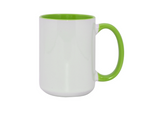 Ceramic 3 Tone Mug - Light Green - 15oz