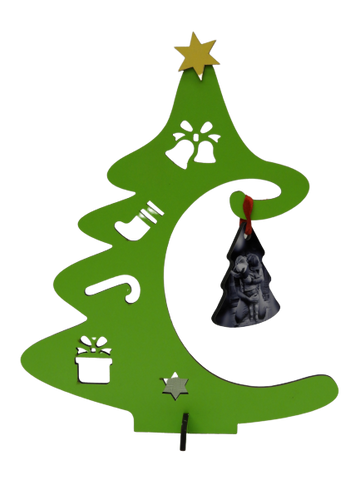 Tree shaped Ornament Hanger - Hard board