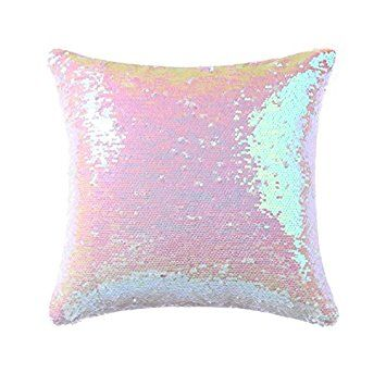 Sequin Pillow Case Square - Mermaid