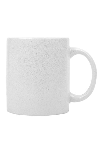 Ceramic Sparkle Silver mug-11oz