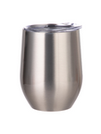 Stemless Wine Glass Stainless Steel - Silver