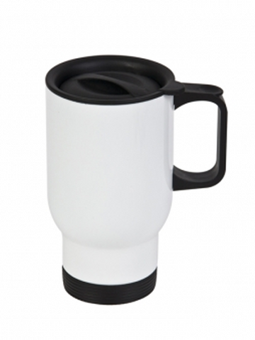 14OZ Stainless Steel Travel Mug-White