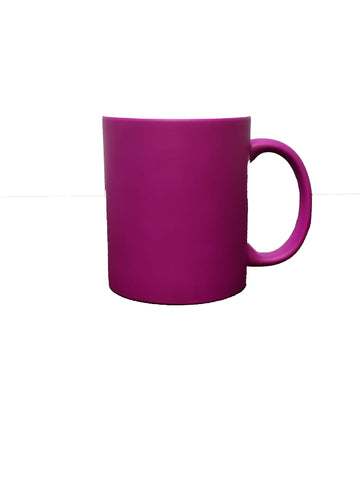 Fluorescent Mug 11 oz - Purple - 12/case