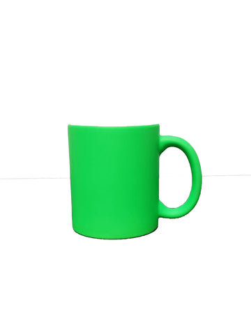 Fluorescent Mug 11 oz - Green