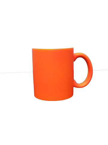 Fluorescent Mug 11 oz -  Orange - 12/case