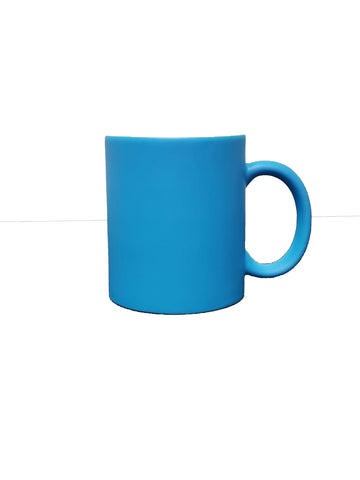 Fluorescent Mug 11 oz- Blue  - 12/case