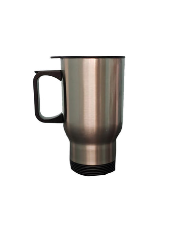 14OZ Stainless Steel Travel Mug-Silver