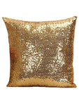 Sequin Pillow Case Square - Golden