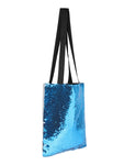 Sequin Tote Bag - Luna Blue