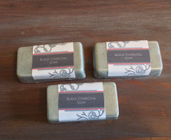 Black Charcoal Facial Soap