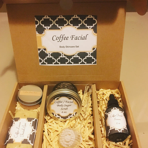Coffee Facial, Body Skincare Set