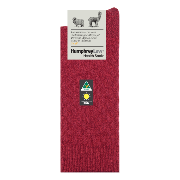 Humphrey Law Alpaca Quilted Health Sock - 6 Colours