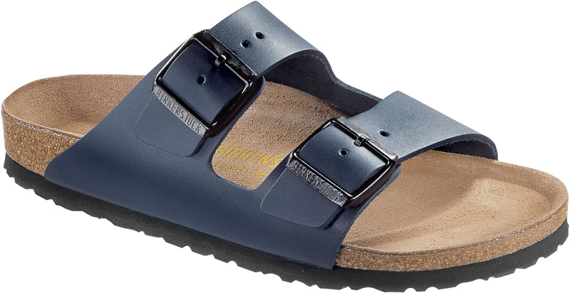 Birkenstock Arizona Blue - Smooth Leather Narrow