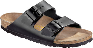 Birkenstock Arizona Black - Smooth Leather Narrow