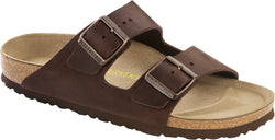 Birkenstock Arizona Habana - Oiled Leather Narrow
