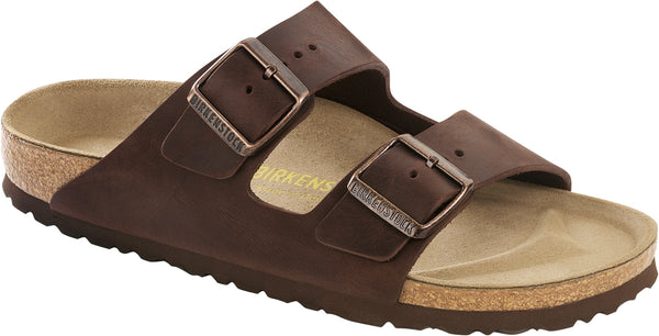 Birkenstock Arizona Habana - Oiled Leather Regular