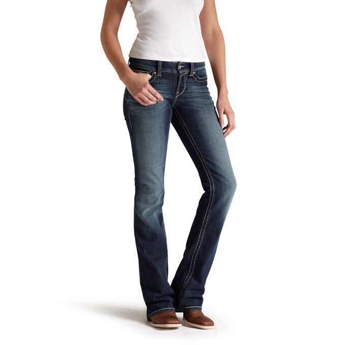 Ariat Womens R.E.A.L. Boot Cut Riding Jeans
