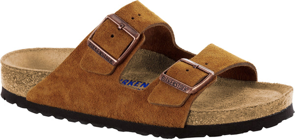 Birkenstock Arizona Mink - Suede Leather/Soft Footbed Narrow