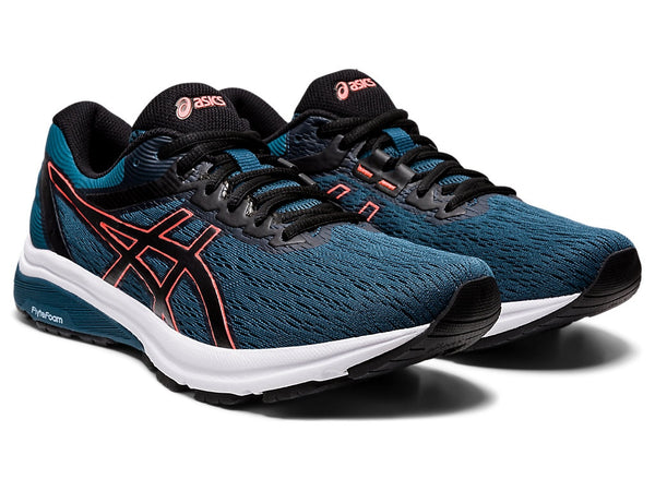 Asics Mens GT-800 - Magnetic Blue/Sunrise Red