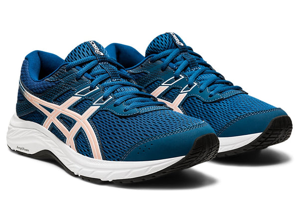 Asics Womens Gel-Contend 6 - Mako Blue/Ginger Peach