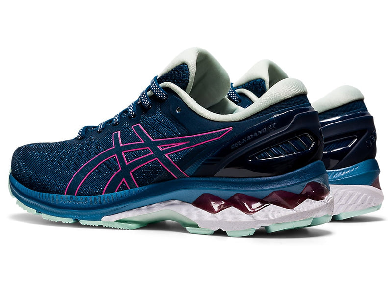 Asics Womens Gel-Kayano 27 - Mako Blue/Hot Pink