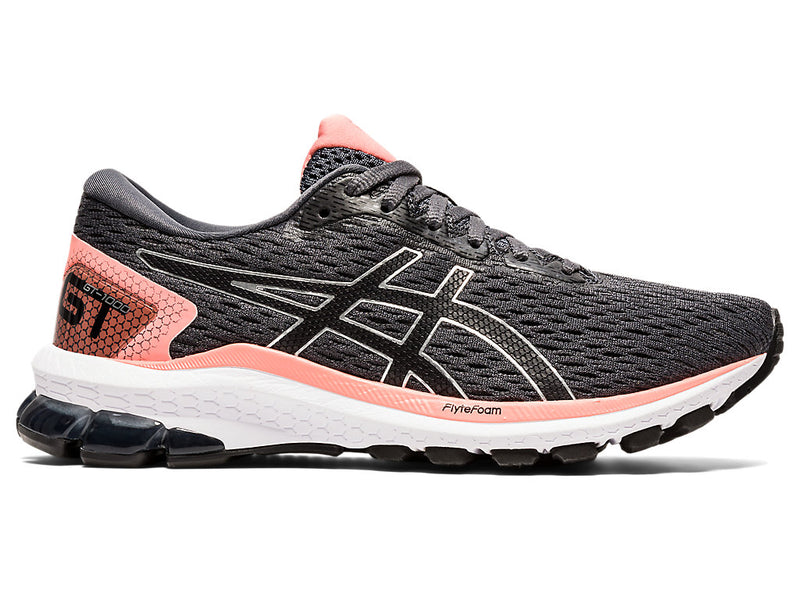 Asics Womens GT-1000 9 - Carrier Grey/Black