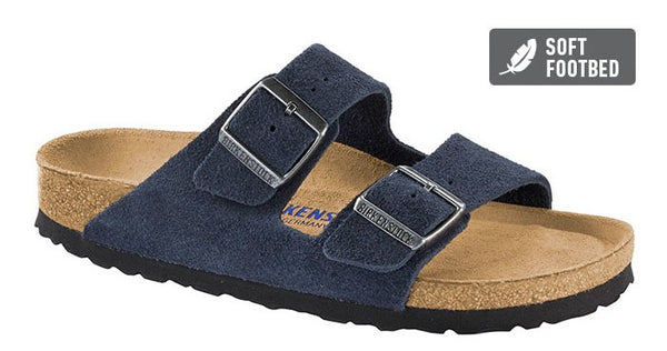 Birkenstock Arizona Night - Suede Leather/Soft Footbed Regular