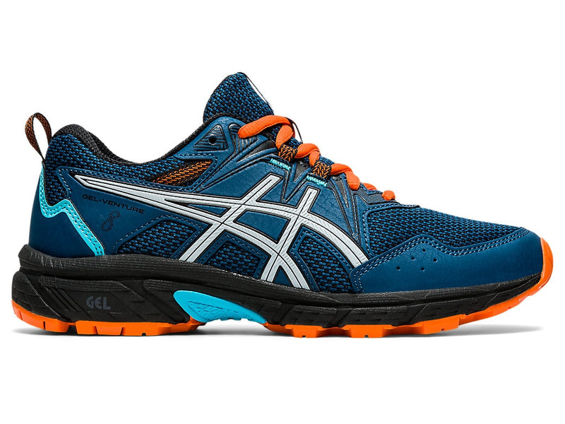 Asics Kids Gel-Venture 8 GS - Mako Blue/Piedmont Grey
