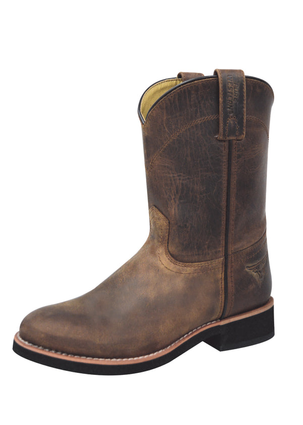 Pure Western Cooper Childrens Boot