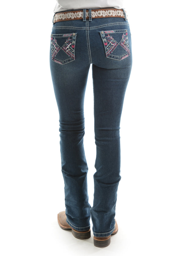 Pure Western Womens Winona Boot Cut Jean