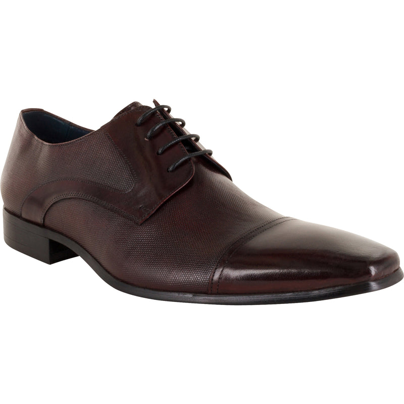 Florsheim Mens Logan Shoe - Cap Toe Derby
