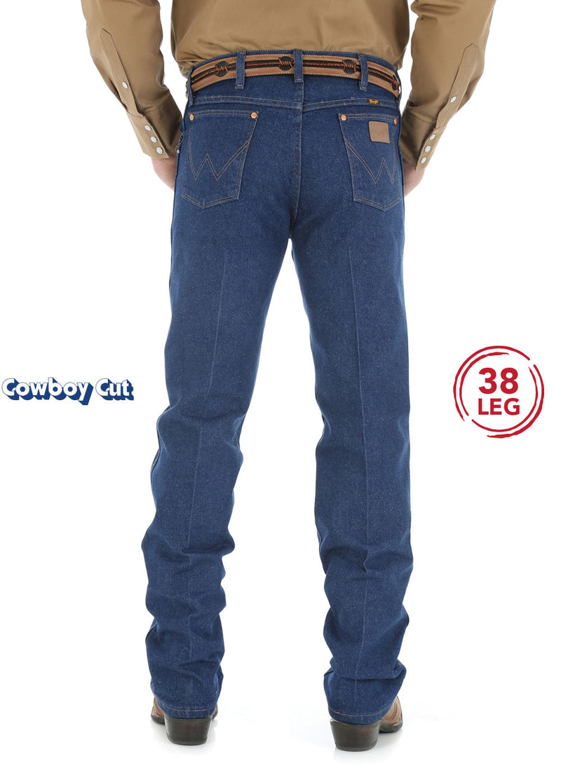 "Wrangler Mens Cowboy Cut Original Fit Jean - 38"" Leg"