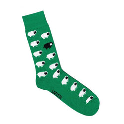 Lafitte Sheep Sock - Green & Navy