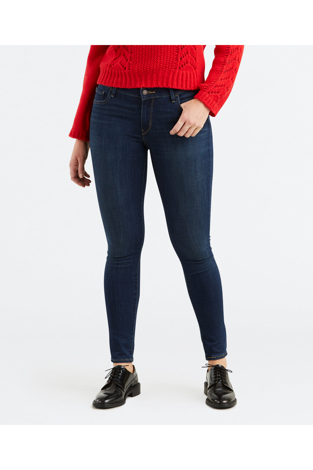 Levi's Womens 710 Super Skinny Jeans - Evolution
