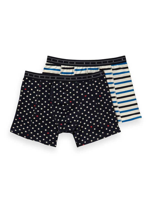 Scotch & Soda Print Boxershorts - 2 Varieties