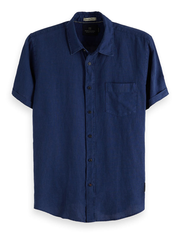 Scotch & Soda Regular Linen Shirt - 2 Colours
